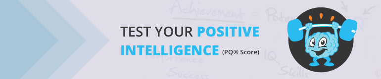 Banner of a test study about positive intelligence.