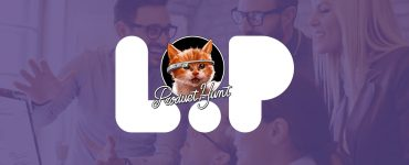 Product Hunt cat and Loop visuals.