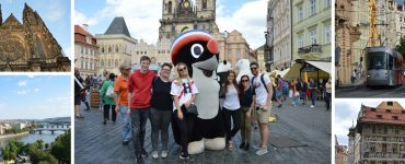 Impressions of Prague and team one.