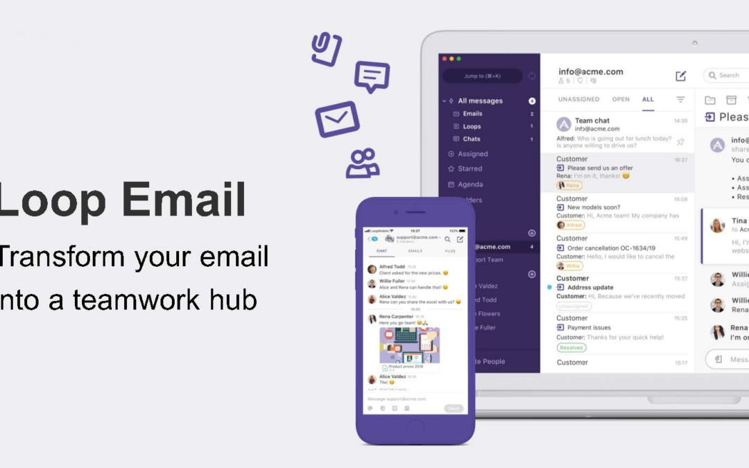 Transform your email into a teamwork  hub
